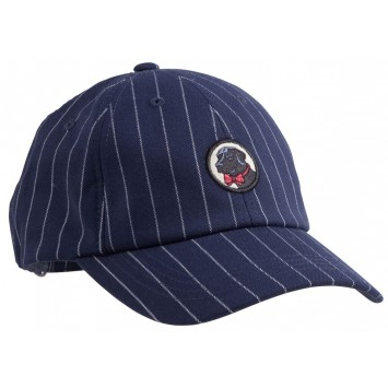 Frat Hat: Navy Pin Stripe